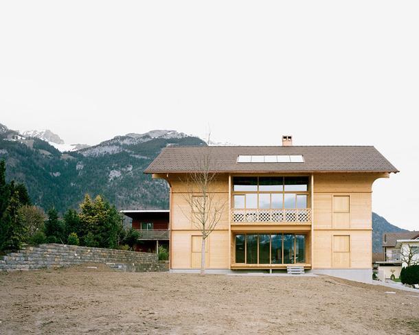 Экодом в Швейцарии