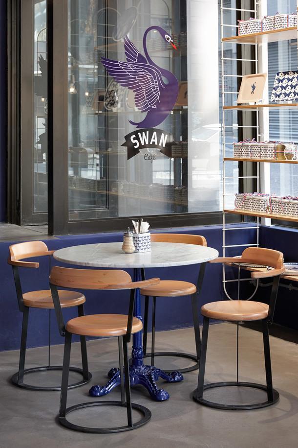 Французское китч-кафе в Кейптауне