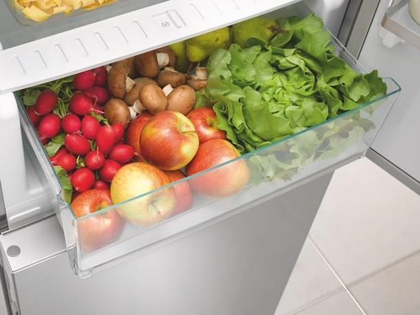 Зона PerfectFresh Pro в холодильнике Miele KFN 29683 D brws.
