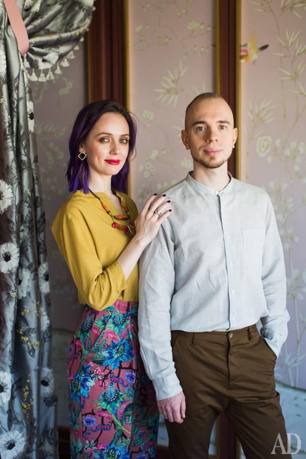Светлана и Илья Хомяковы.