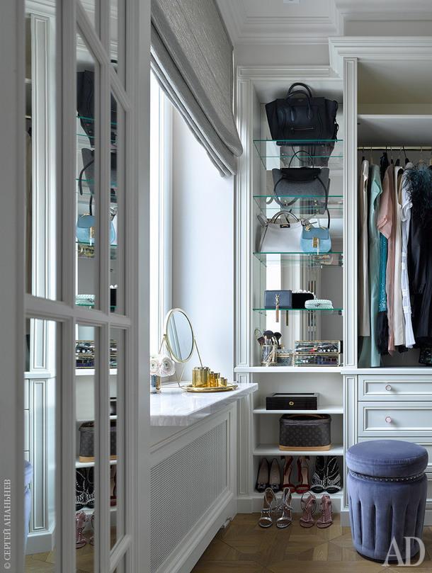 Как оформить гардеробную: 10 вариантов