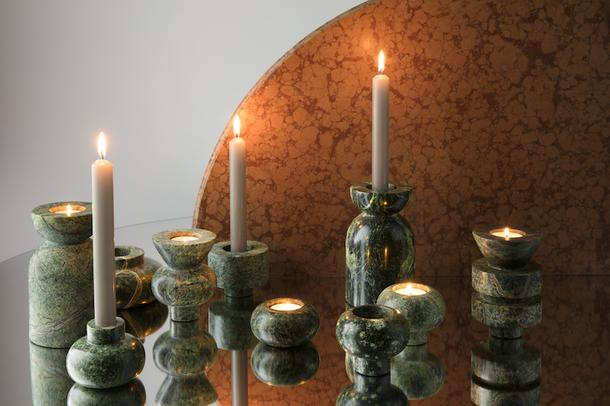 Коллекция аксессуаров из мрамора от Тома Диксона
