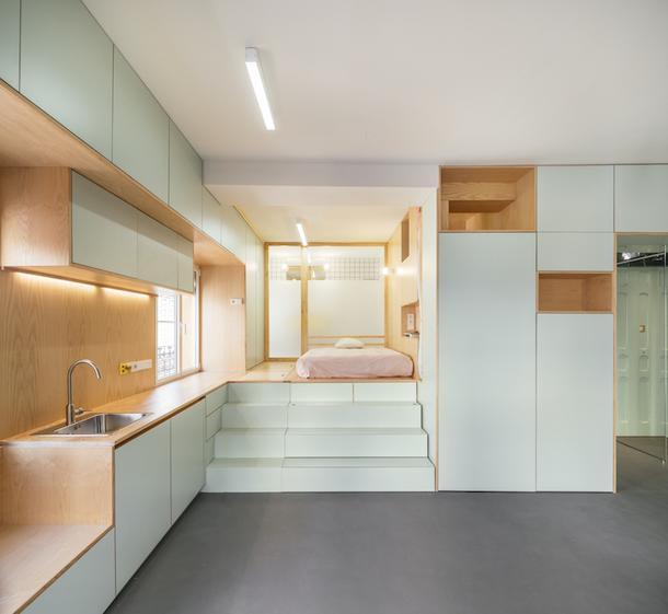 Квартира в Мадриде, 34 м²