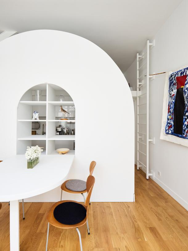 Маленькая квартира в Париже, 30 м²