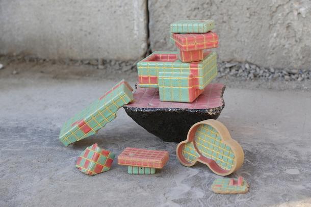 Микрогород из глины художницы Юнби Чо