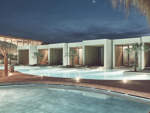 Минималистичный отель в Греции