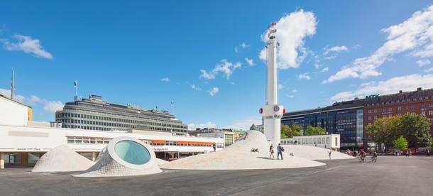 Новый музей Amos Rex в Хельсинки