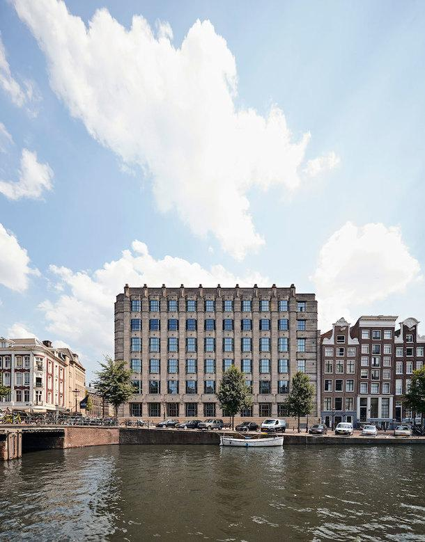 Новый Soho House в Амстердаме в памятнике эпохи ар-деко