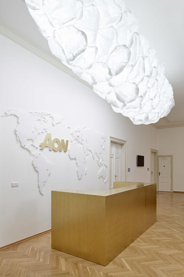 Офис в старинном здании в Праге