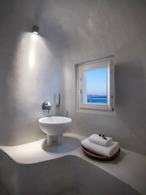 #отпускпообмену: дом в пещере на острове Санторини