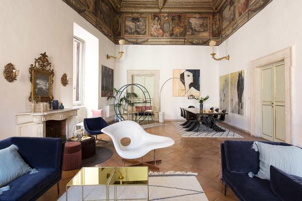 #отпускпообмену: роскошное палаццо в Риме