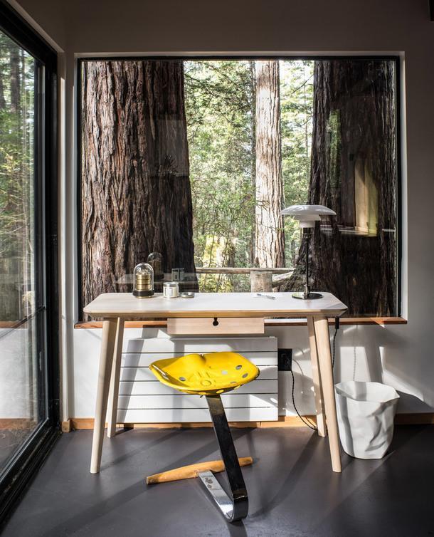#отпускпообмену: уединенный домик в калифорнийском лесу