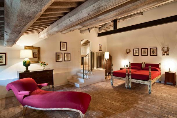 #отпускпообмену: вилла эпохи Возрождения в Италии