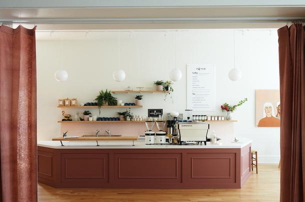 Уютное кафе-коворкинг в Кливленде