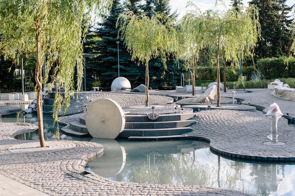 В Парке Горького откроют современную игровую площадку