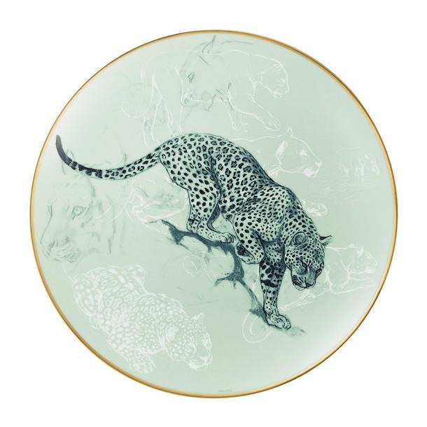 Тарелка из коллекции Carnets d'Équateur поэскизам художника Робера Далле.