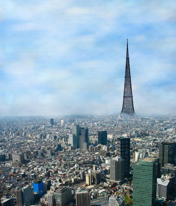 Футуристическая идея: 5 проектов небоскребов-городов