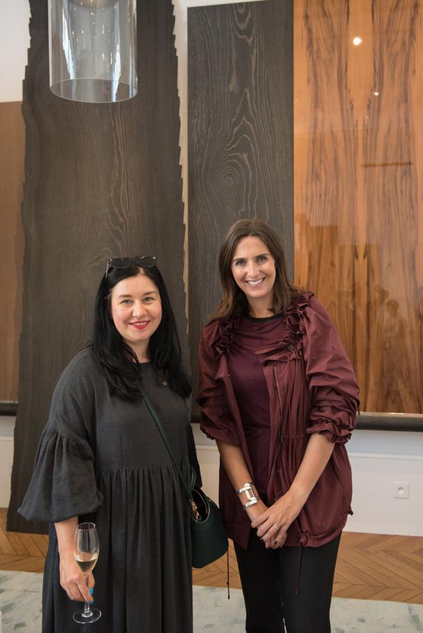 Анастасия Ромашкевич, главный редактор AD, и Энн Шумахер, Liaigre.