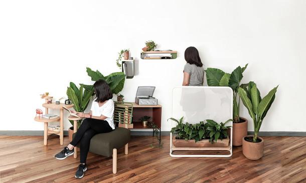 Коллекция функциональной мебели для дома и улицы от мексиканского дизайнера
