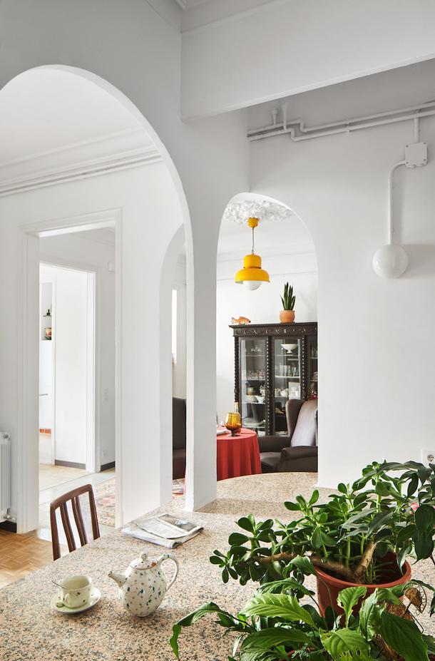 Квартира в Барселоне с остроумной планировкой