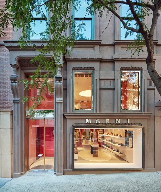 Новый бутик Marni на Мэдисон-авеню