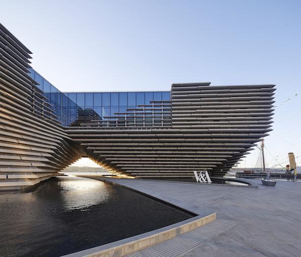 Открытие музея V&A Dundee по проекту Кенго Кумы в Шотландии