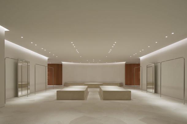 Минималистичный флагманский бутик Jil Sander в Токио