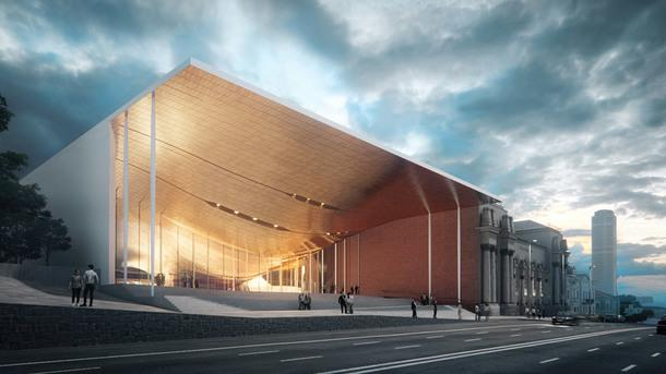 В Екатеринбурге построят филармонию по проекту бюро Захи Хадид