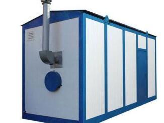 Транспортабельные котельные установки для строительных объектов